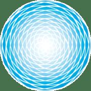 Azul Spiral Blue