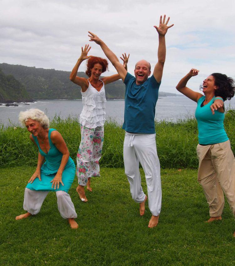 Alegría de convertirse en maestro del Movimiento Consciente Azul