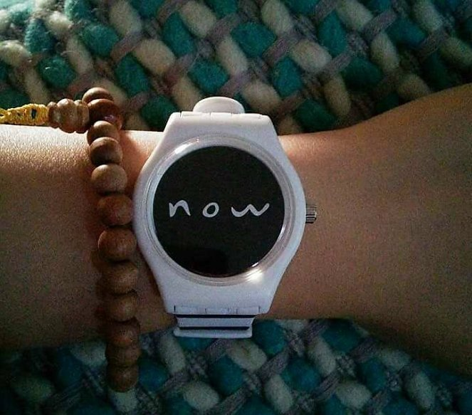 Stealbacktime 'Now' mindfulness watch