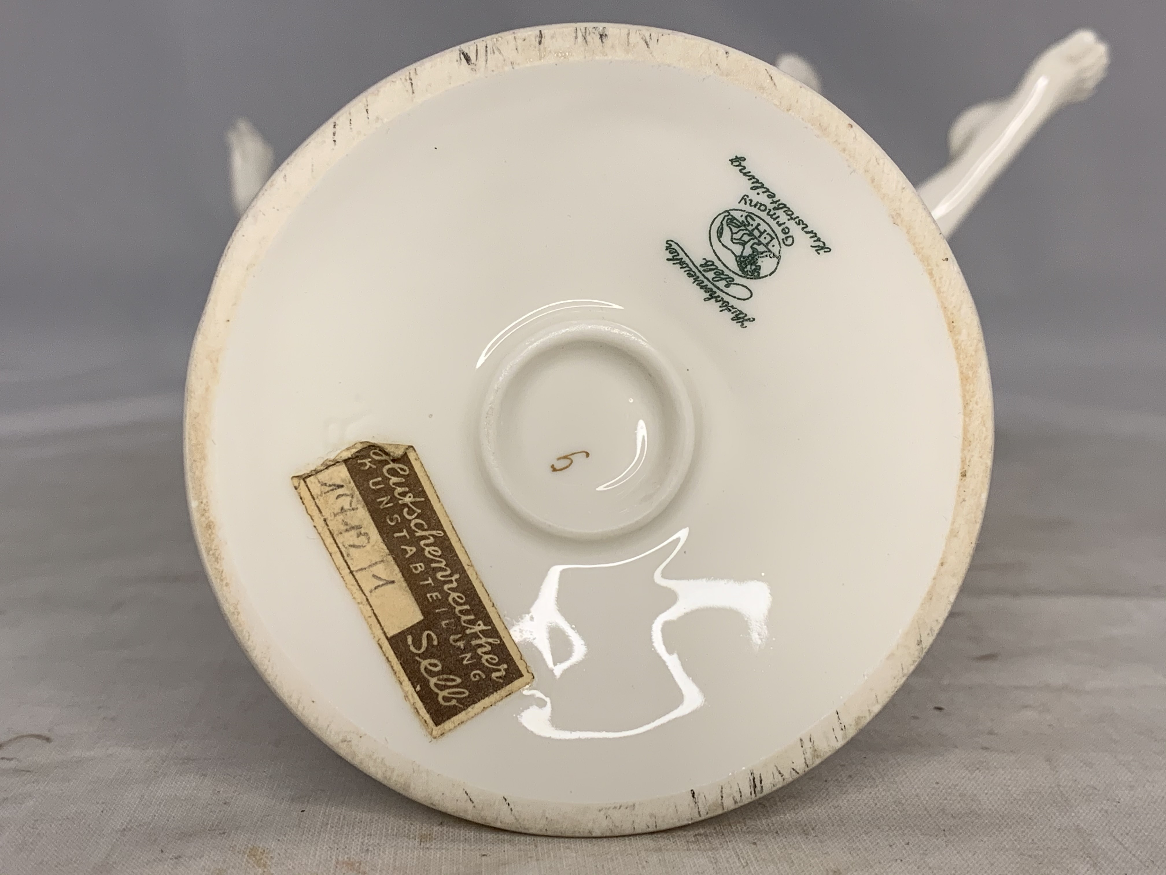 Sold Price: Hutschenreuther figurine; German porcelain Art