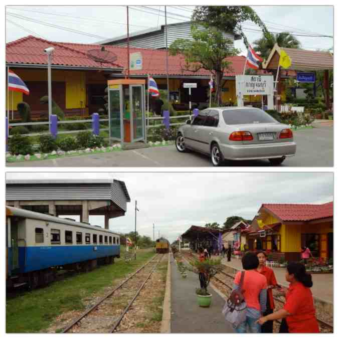 The Kanchanaburi Train Station.