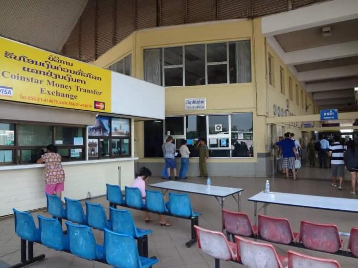 Laos' border entry.
