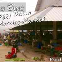 Muang Sing: A Foggy Dawn in the Morning Market