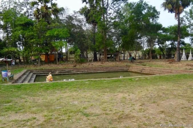 The baray at Prang Ku.