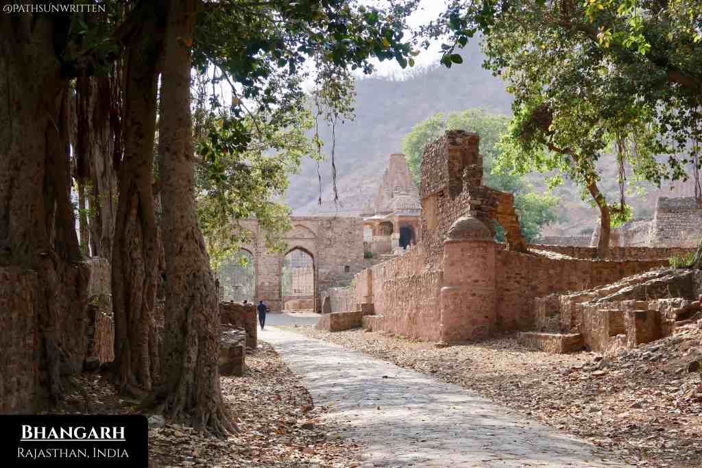 """Bhangarh and its fort are considered the """"Most Haunted Place in India""""."""