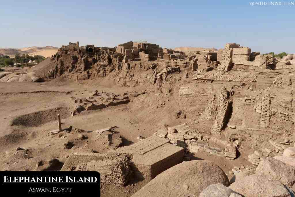 With ruins dating from early Egyptian to Roman eras, Elephantine Island is fascinating to explore.
