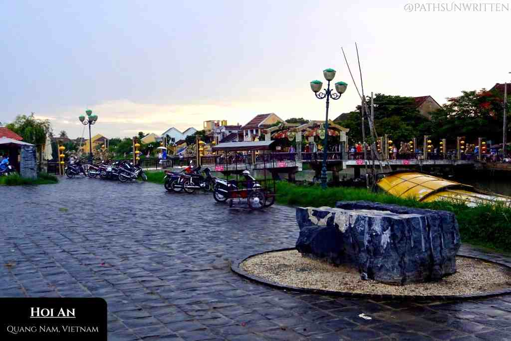Hoi An hosts historic architecture along its former trading port waterfront.