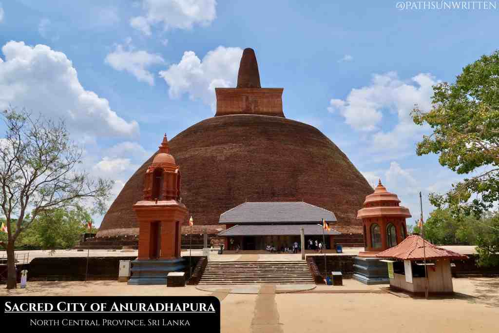 Anuradhapura's monuments date back over 2000 years, making it one of the oldest inhabited cities in the world.