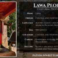 Cultural Profile: Lawa, the Oldest Settlers of Thailand