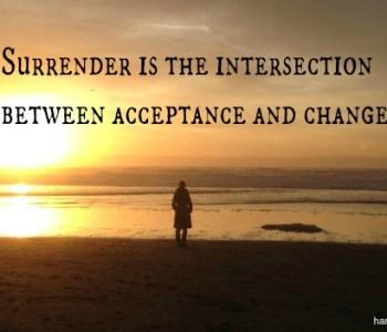 surrender in addiction treatment