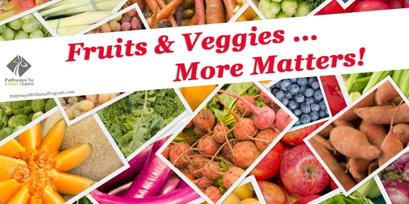 September Wellness: Fruits & Veggies: More Matters!