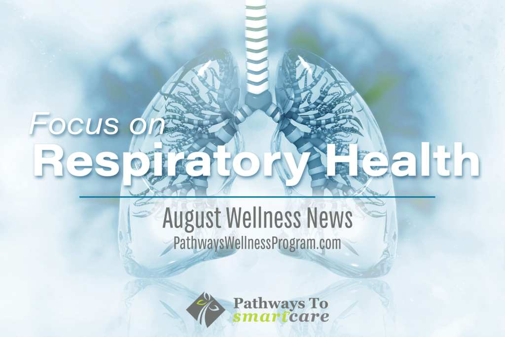 Focous on Respiratory health - august wellness News from Pathways to SmartCare
