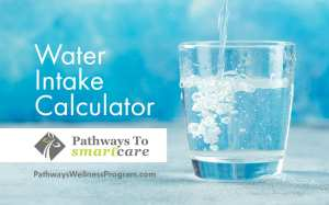Goal Water Intake Calculator