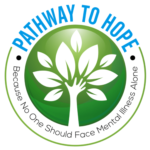 Pathway To Hope - Because no one should face mental illness alone Logo