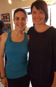 Peyton and yoga instructor Mylene