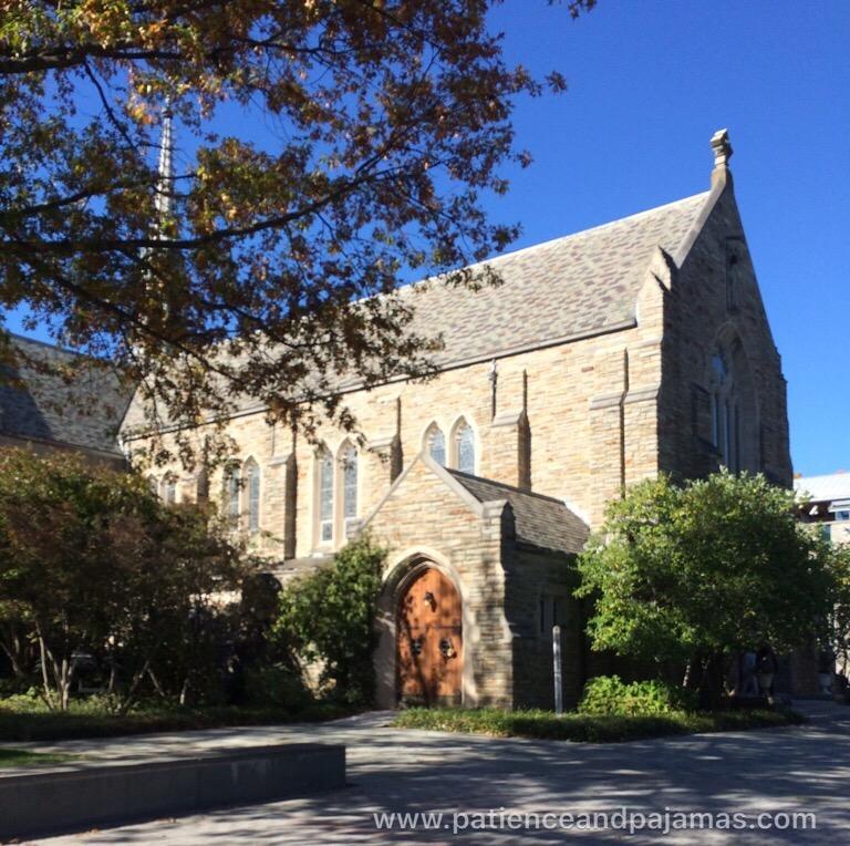 Loyola University Maryland cathedral