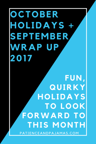 October Holidays 2017