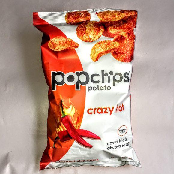 A bag of crazy hot popchips.