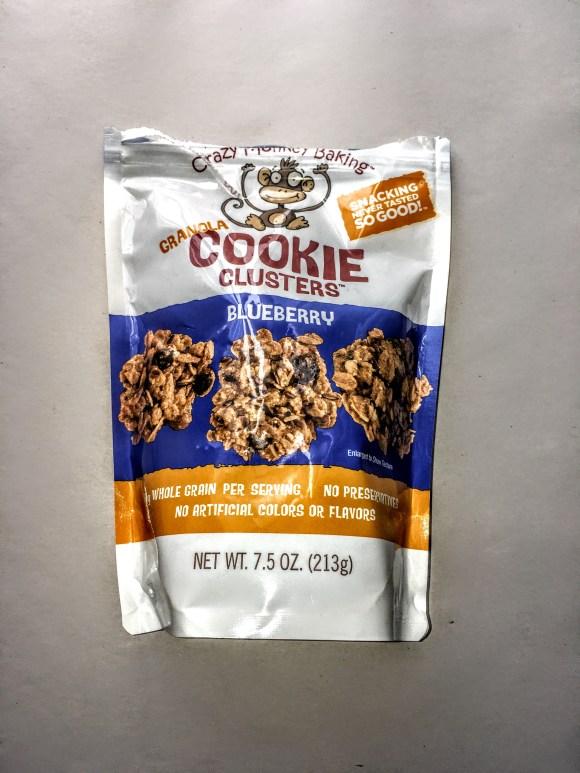 Bag of Crazy Monkey Baking Granola, front view