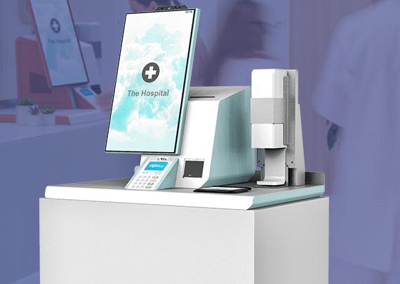 polytouch healthcare kiosk