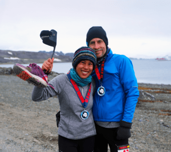 Cheryl Hile MS marathon runner