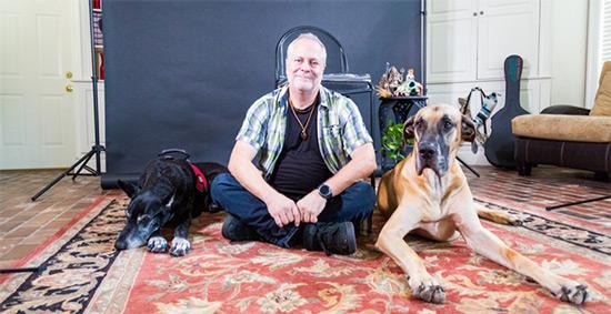 Service dog for fibromyalgia