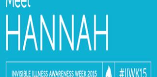 Meet Hannah Invisible Illness Awareness