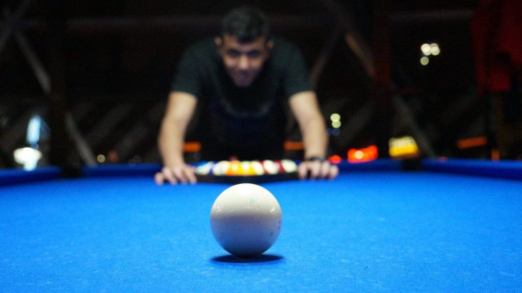 Billiard Player with Moebius Syndrome Takes the Gold