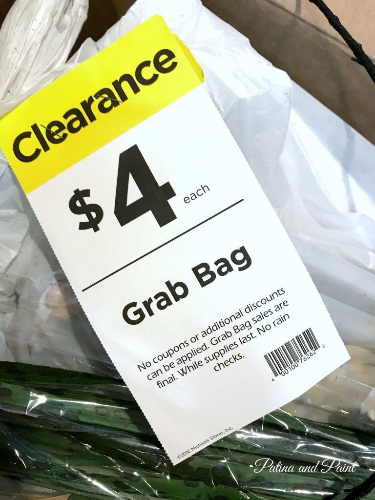 $4 Michaels Grab Bag