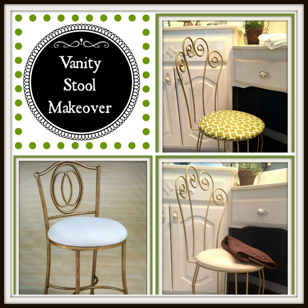Vanity Stool Makeover