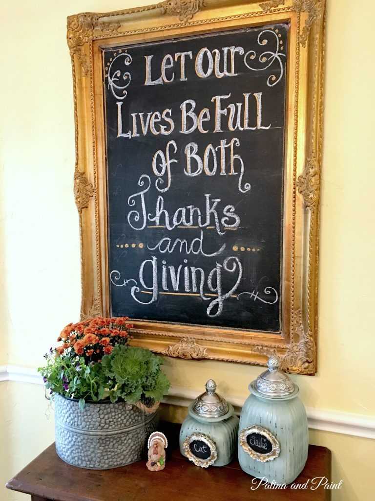 Be Full of Thanks and Giving