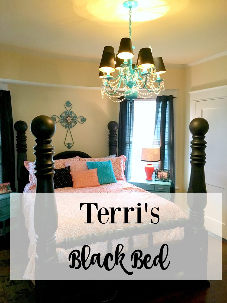 Terri's Black Bed