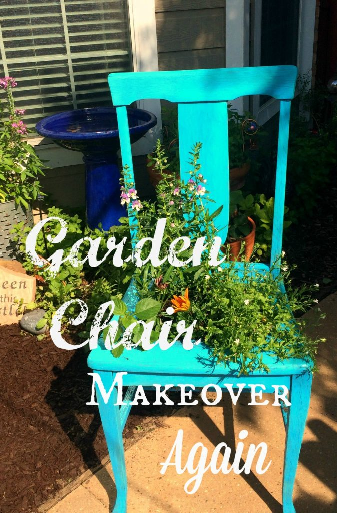 Garden Chair Makeover – Again