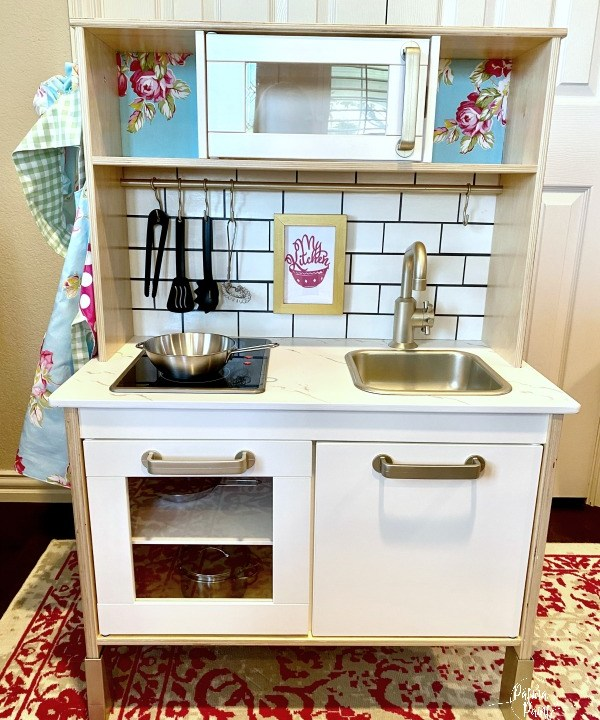 Ikea Duktig kitchen makeover