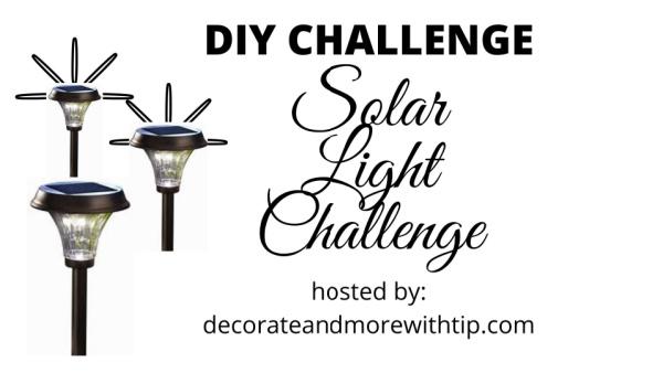 DIY Solar Light Challenge