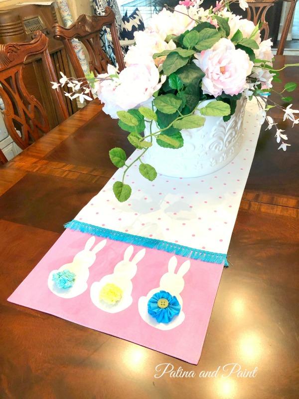 Easter Bunny Table Runner