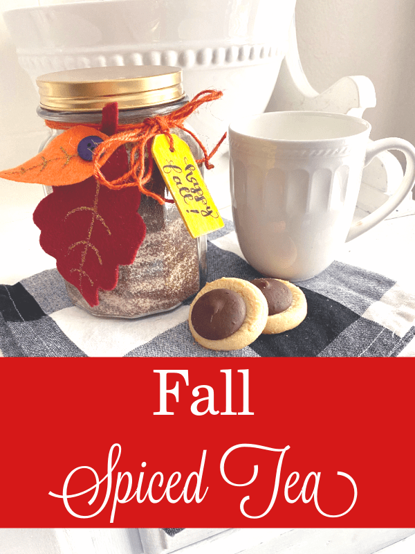 Fall Spiced Tea