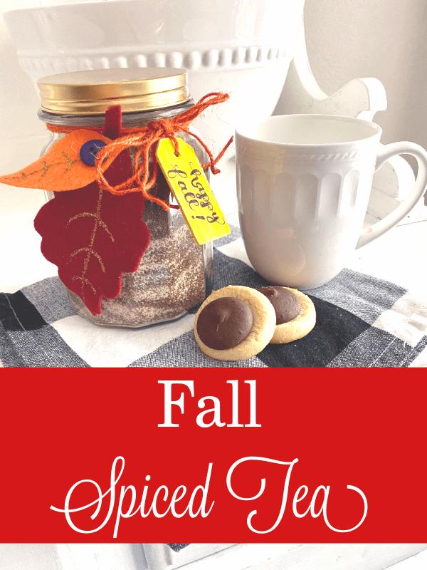 Fall Spiced Tea