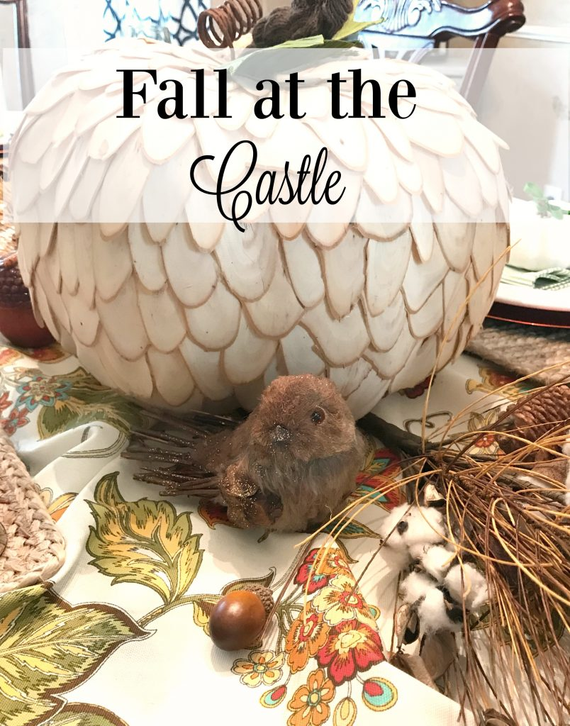 Fall at the Castle