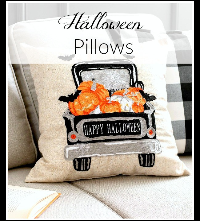 Halloween Pillows and a giveaway