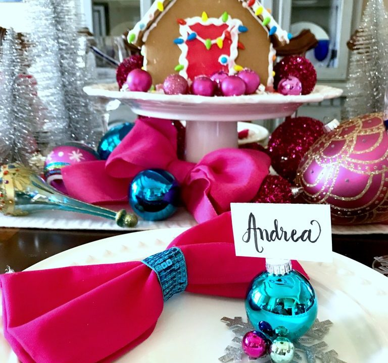 Gingerbread centerpiece