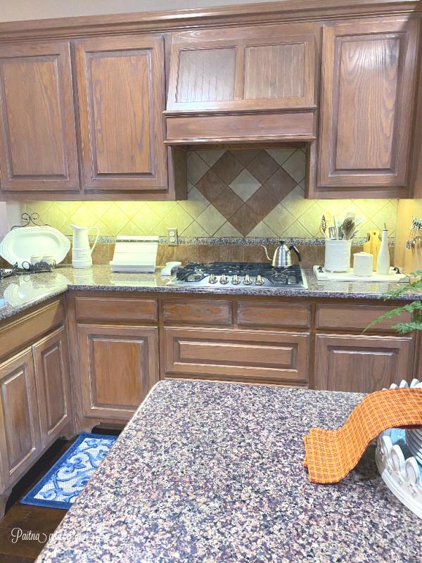 Kitchen back splash