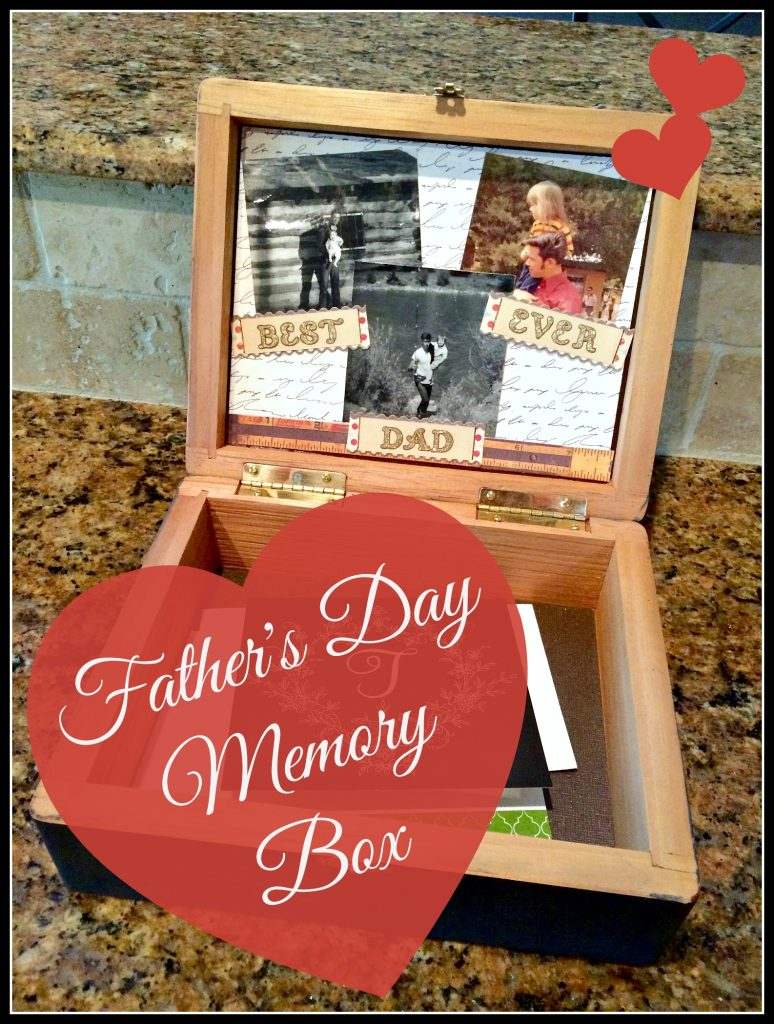 Father's Day Memory Box