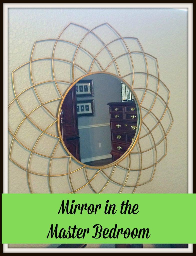 Mirror In the Master Bedroom