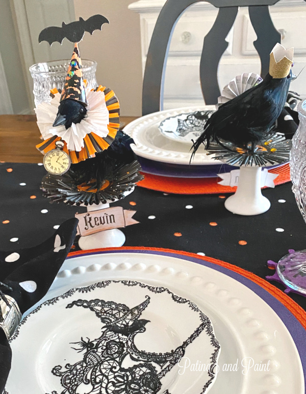Murder of Crows Halloween Table