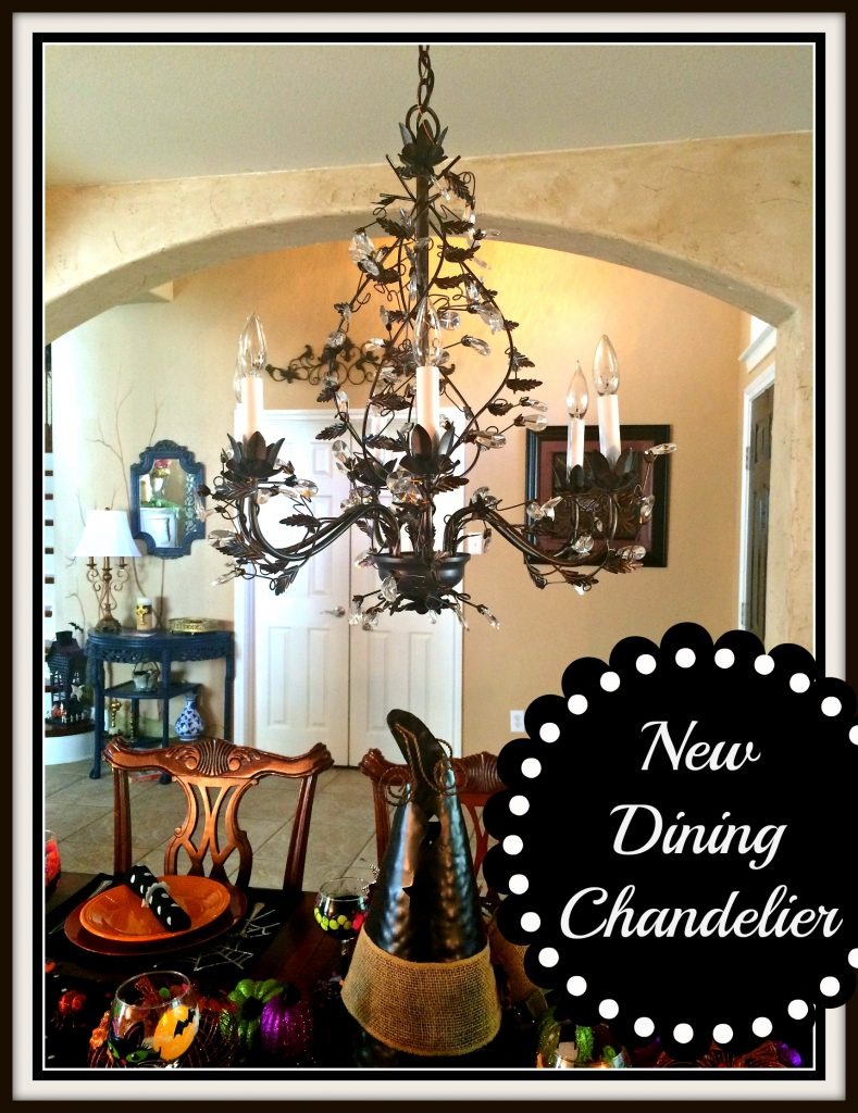 New Dining Room Chandelier!