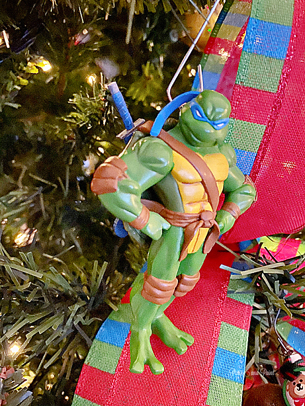 Ninja Turtle ornament