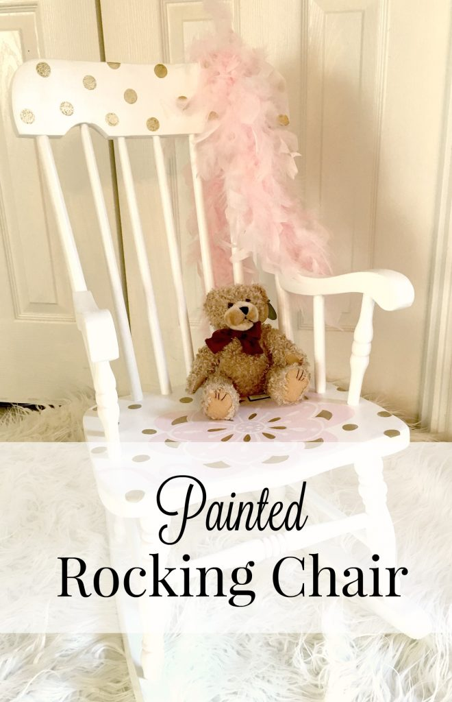 Painted Rocking Chair