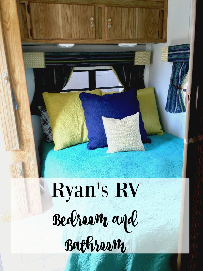 Ryan's RV Bedroom and Bathroom