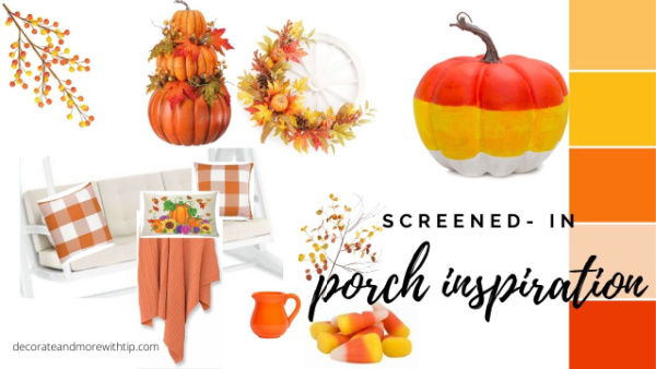 Terrie's Fall Screen Porch inspo board